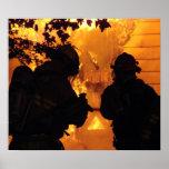 Firefighter Team Print