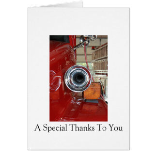 Firefighter Thank-you Card