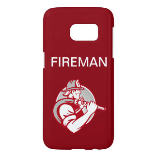 Firefighter Theme Samsung Galaxy S7 Case