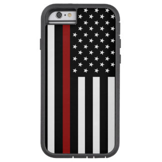 Firefighter Thin Red Li Tough Xtreme iPhone 6 Case