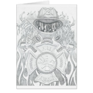 Firefighter Tribute Card