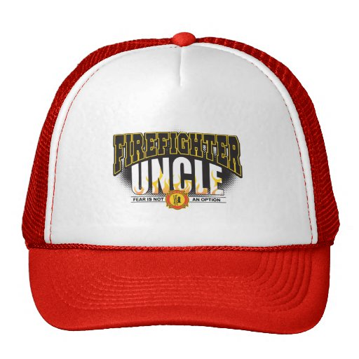 Firefighter Uncle Mesh Hat