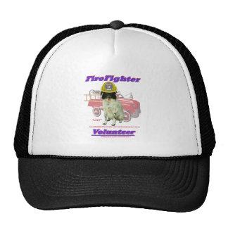 FireFighter Volunteer Lady Trucker Hat