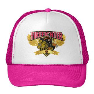 Firefighter Wings Trucker Hats