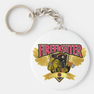 Firefighter Wings Keychain