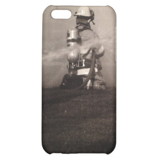 Firefighter Working iPhone 5C Cases