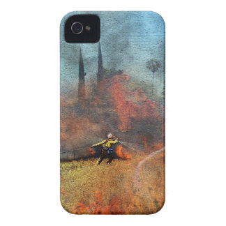 Firefighters are our true heroes iPhone 4 case