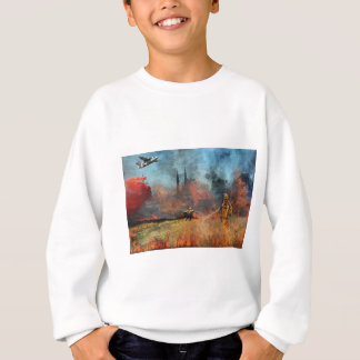 Firefighters are our true heroes sweatshirt