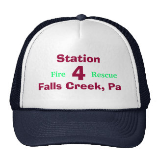 Firefighters Cap Trucker Hat