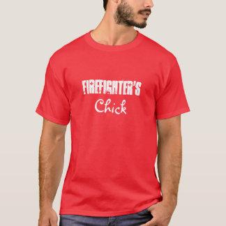 Firefighter's, Chick-T-Shirt T-Shirt