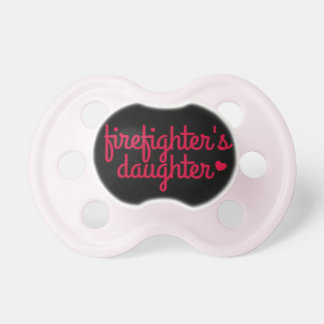 """Firefighter's Daughter"" Pacifier"