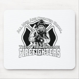 Firefighters design mouse pad