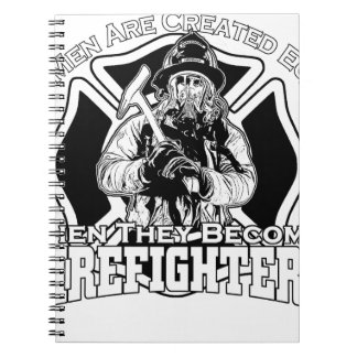 Firefighters design notebooks