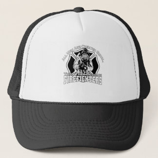 Firefighters design trucker hat