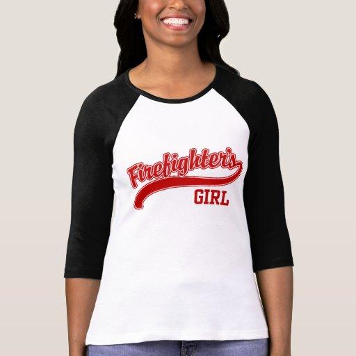 Firefighter's Girl T Shirts