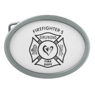 Firefighters Girlfriend Belt Buckle