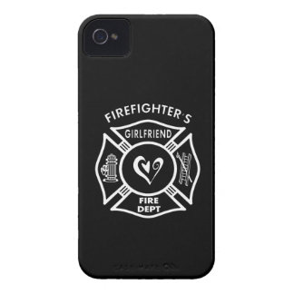 Firefighter's Girlfriend iPhone 4 Case-Mate Case
