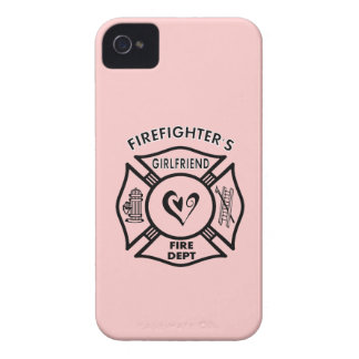 Firefighter's Girlfriend iPhone 4 Covers