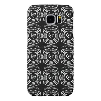 Firefighter's Girlfriend Samsung Galaxy S6 Cases