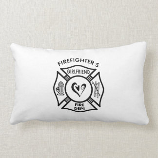 Firefighters Girlfriends Lumbar Pillow