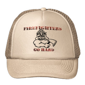 Firefighters Trucker Hat