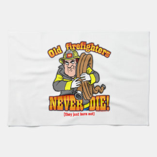 Firefighters Kitchen Towel
