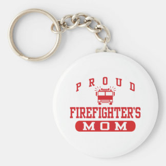 Firefighter's Mom Keychain
