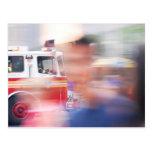 Firefighters New York Postcard