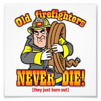 Firefighters Art Photo
