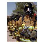 Firefighters Postcard