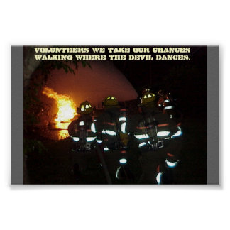 Firefighters Poster
