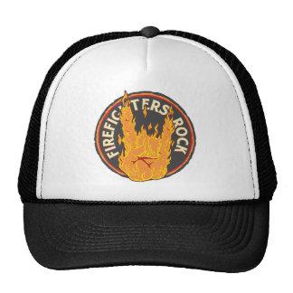 Firefighters Rock! Mesh Hats