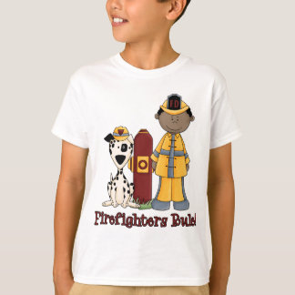 Firefighters Rule African American T Shirt
