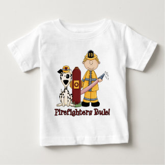 Firefighters Rule Blonde Baby T-Shirt