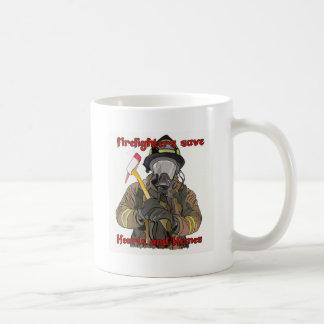 Firefighters Save Hearts and Homes Coffee Mug