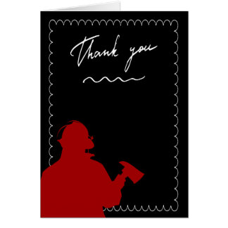 Firefighters Thank You Card