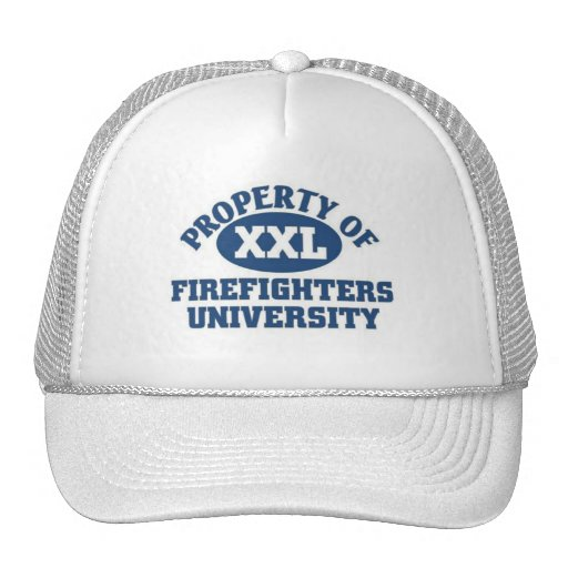 Firefighters University Trucker Hats