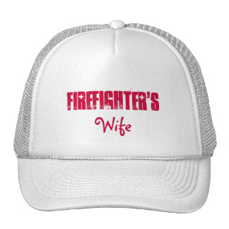Firefighter's, Wife Hat