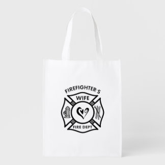 Firefighters Wife Market Totes