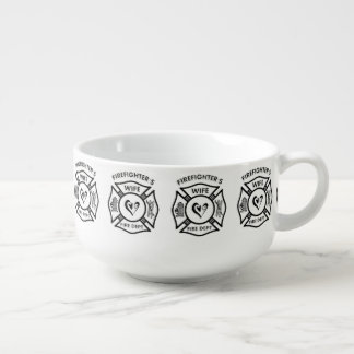 Firefighters Wife Soup Mug