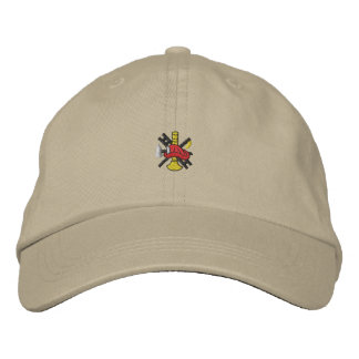 Firefighting Logo Embroidered Hats
