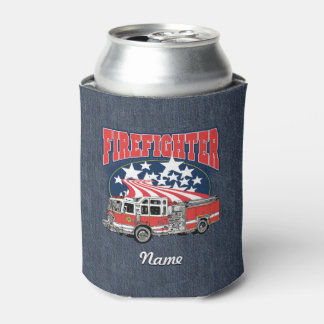 Firefighting Truck Can Cooler