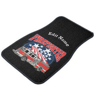 Firefighting Truck Car Mat