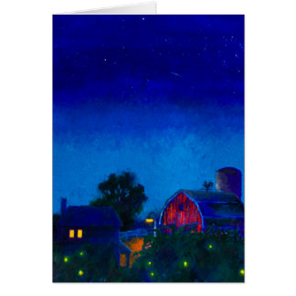 Fireflies and Night Skies Card