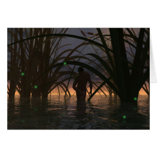 Fireflies Card
