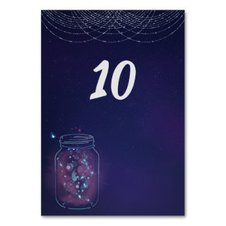 Fireflies in Jars Card