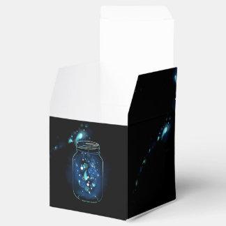 Fireflies in Jars Favor Box