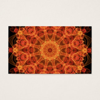 Fireflower Kaleidoscope Business Card