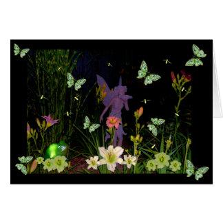Firefly Garden Card