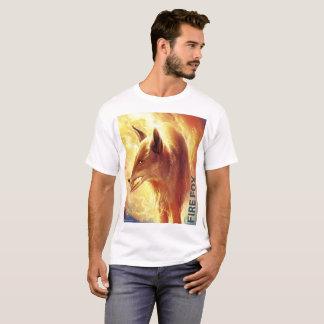 FireFox, Fox and Fire Art T-shirt